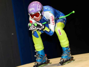 Optimization of alpine skiing suits