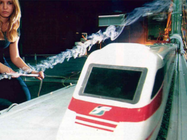 Crosswind evaluation of Pendolino train