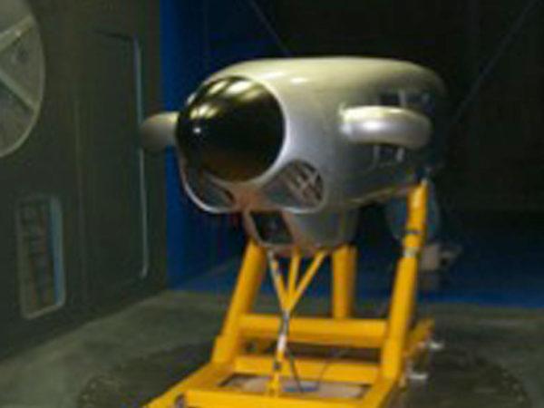Vulcanair mission air-intake
