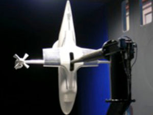 ERICA tiltrotor force model (in helicopter mode)