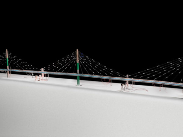 Forth replacement crossing, cable stayed bridge