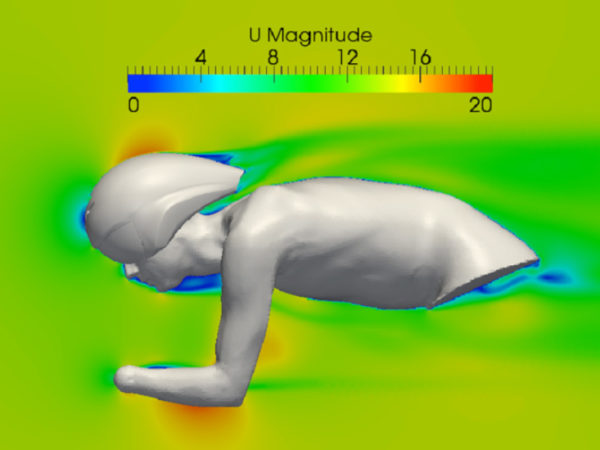 Cycling helmet aerodynamic optimization